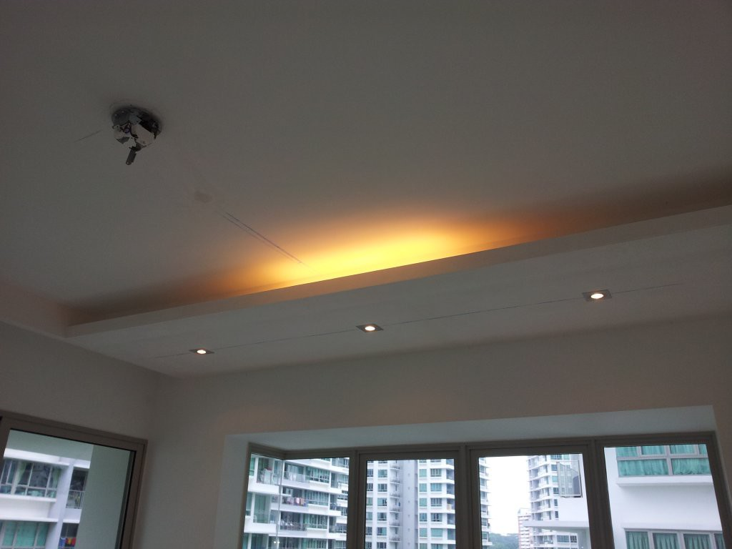 Lighting holders false ceilings l box partitions lighting our services mozeypictures Images