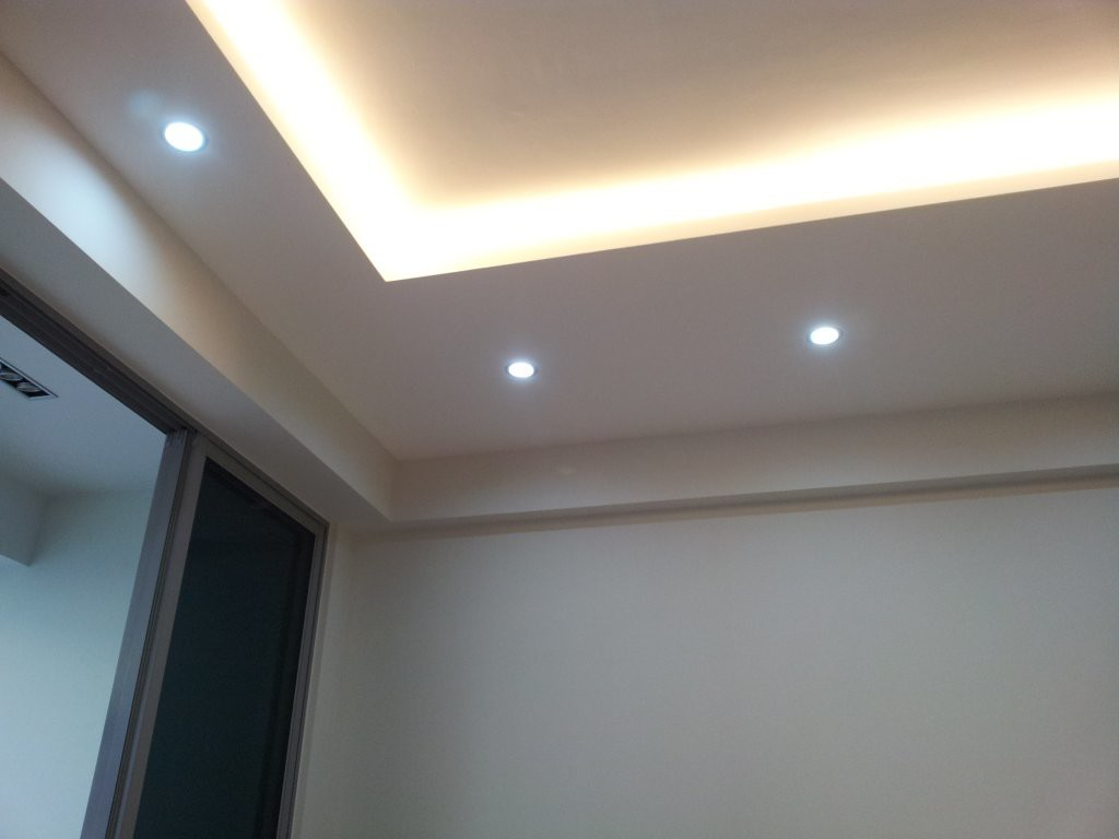 Lighting holders false ceilings l box partitions lighting holders - Lights used in false ceiling ...
