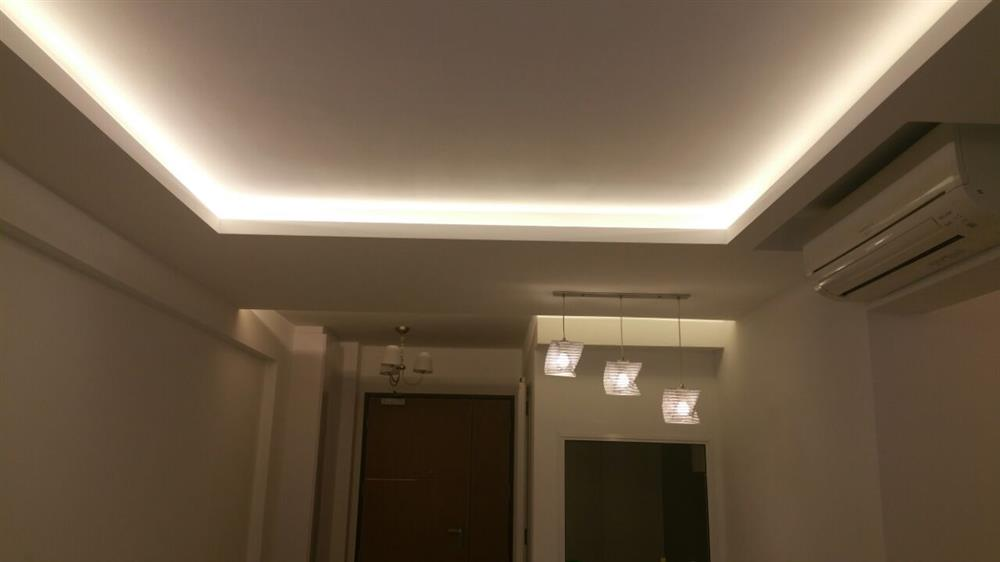Cieling Design Aapostolides Barrisol Black Gloss Stretch