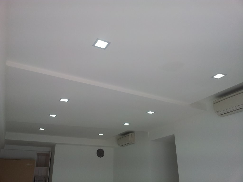 Ceiling False Ceilings L Box Partitions Lighting