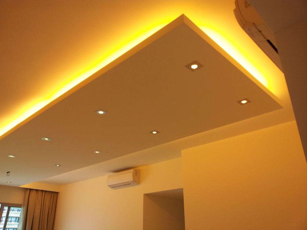 Island Ceilings False Ceilings L Box Partitions